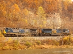 CSX 133 and 4738